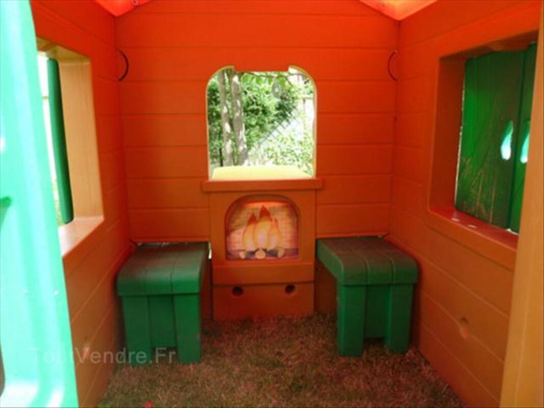 Cabane Trappeur De Jardin Pour Enfants CHICCO Gouaix 77114 Jardin ...