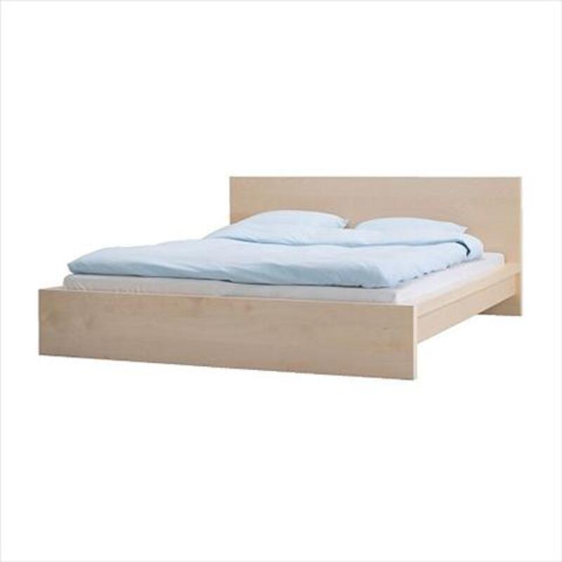Cadre De Lit 2 Tables Chevet Sommier Ikea 160x200 à 170euro