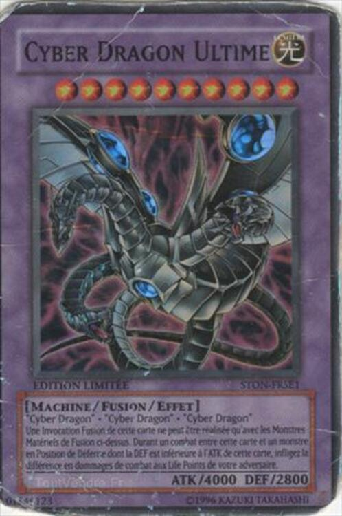 carte yu gi oh cyber dragon ultime super rare ribes 07260. Black Bedroom Furniture Sets. Home Design Ideas