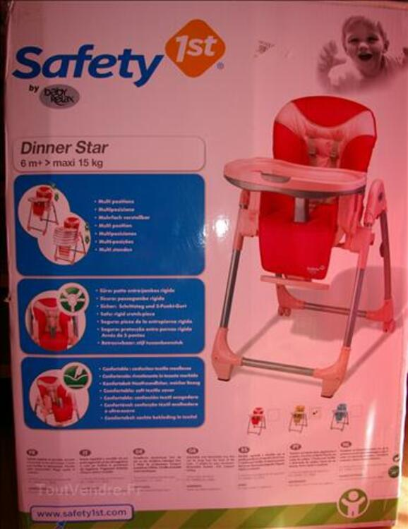 CHAISE HAUTE Dinner Star SAFETY 1ST Par BABY RELAX 36615599