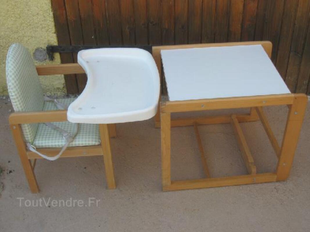 Chaise haute en bois Évolutive bureau toys r us pouillé 86800