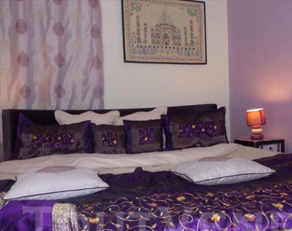 Chambre d 39 h te avec lit rond et spa jacuzzi privatif - Chambre avec jacuzzi nord pas de calais ...