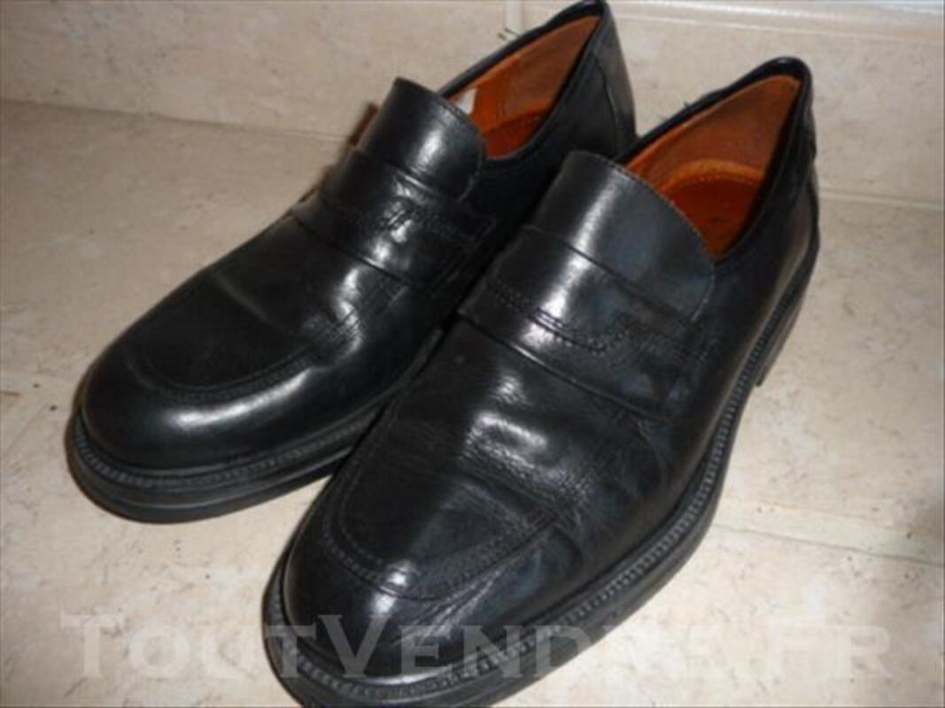687f6088b678ac Chaussure De Ville SERGIO VARESE 43 CUIR Noir Ttbe Sainte-Florence 33350