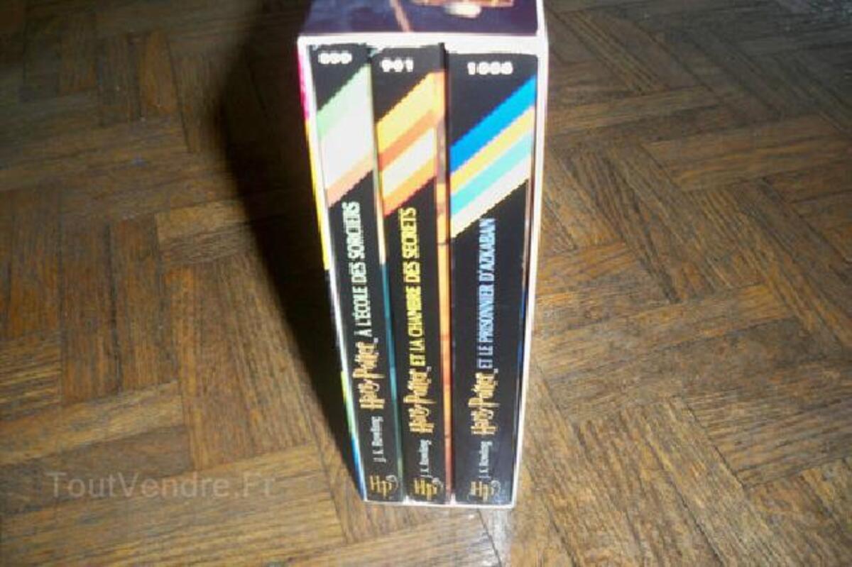 Coffret De 3 Livres Harry Potter Folio Junior Verlin 89330