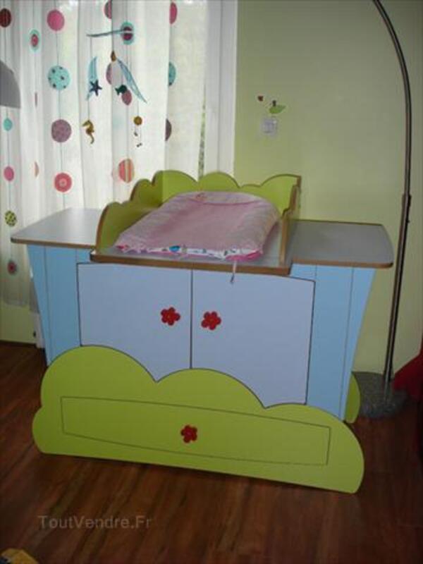 Commode Enfant Originale Avec Table A Langer Amovible Fremecourt 95830