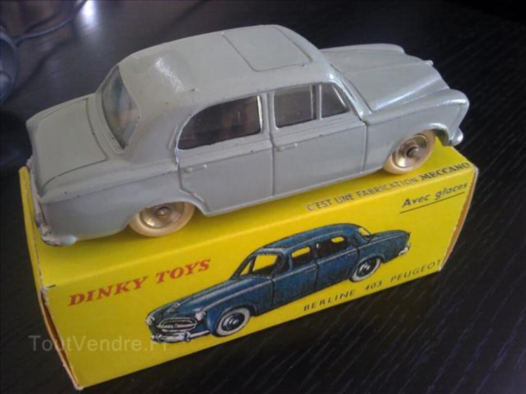 Dinky Toys boîte repro 521 peugeot 403 berline
