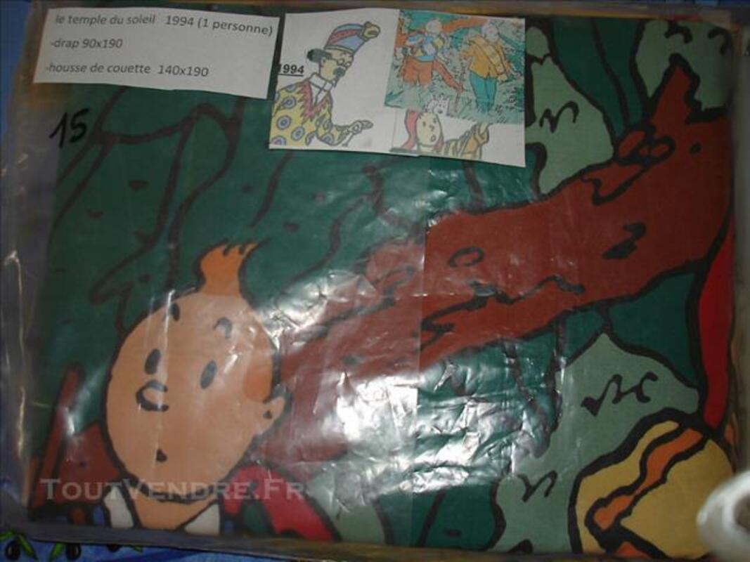 Drap Housse De Couette Tintin Le Temple Du Soleil 1994 Sausheim 68390