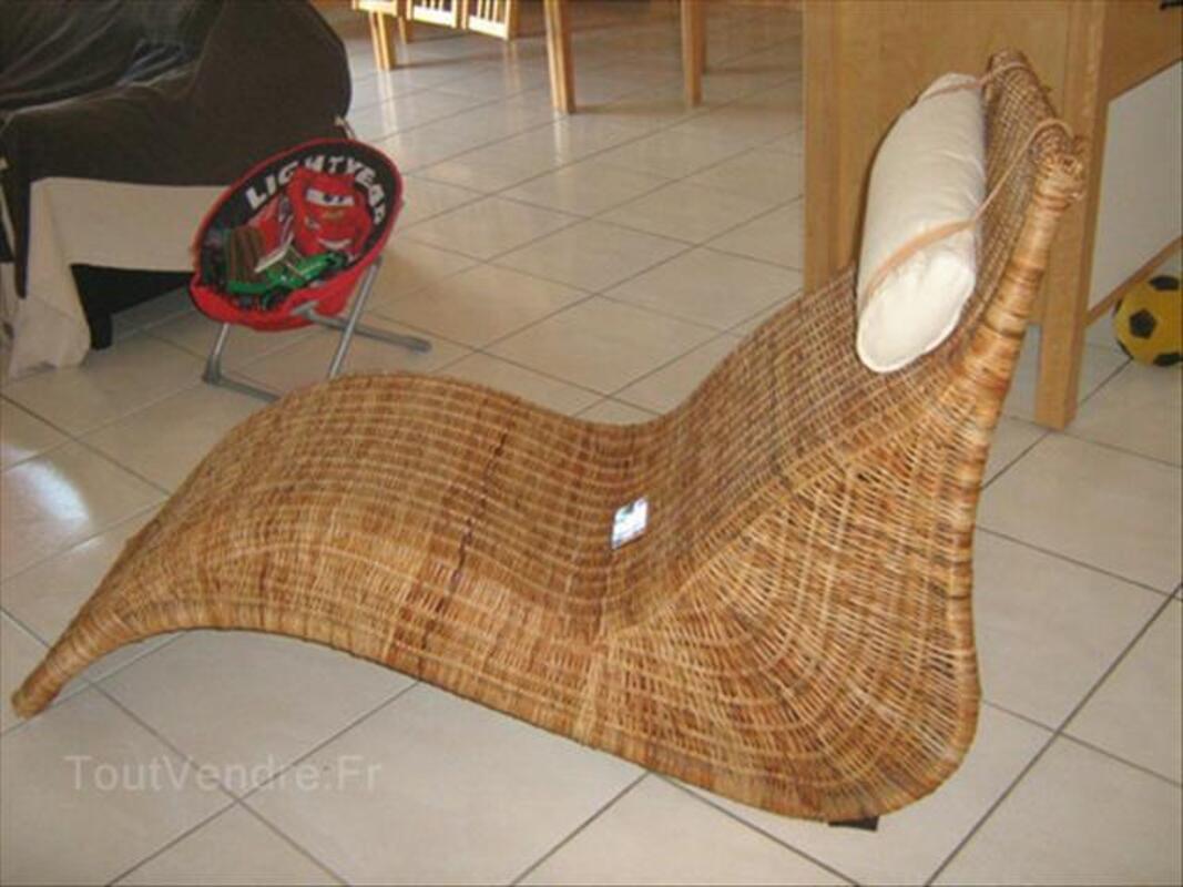 Fauteuil Relax En Rotin De Chez Ikea Repose Tête La