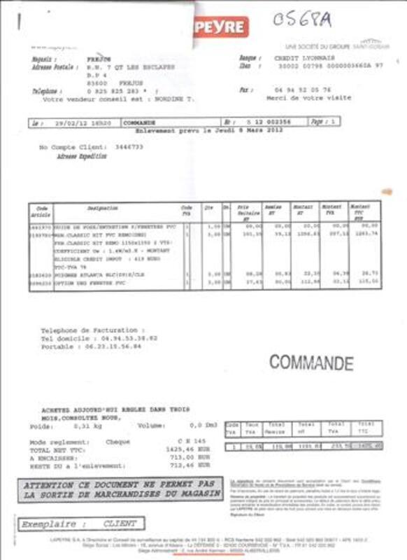Fenetre Lapeyre Renovation H1160 L1360 Pvc Draguignan 83300