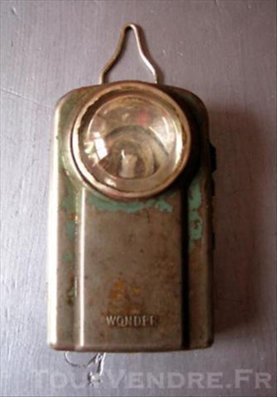 Lampe De Poche Ancienne Marque Wonder Chaumont Sur Aire 55260