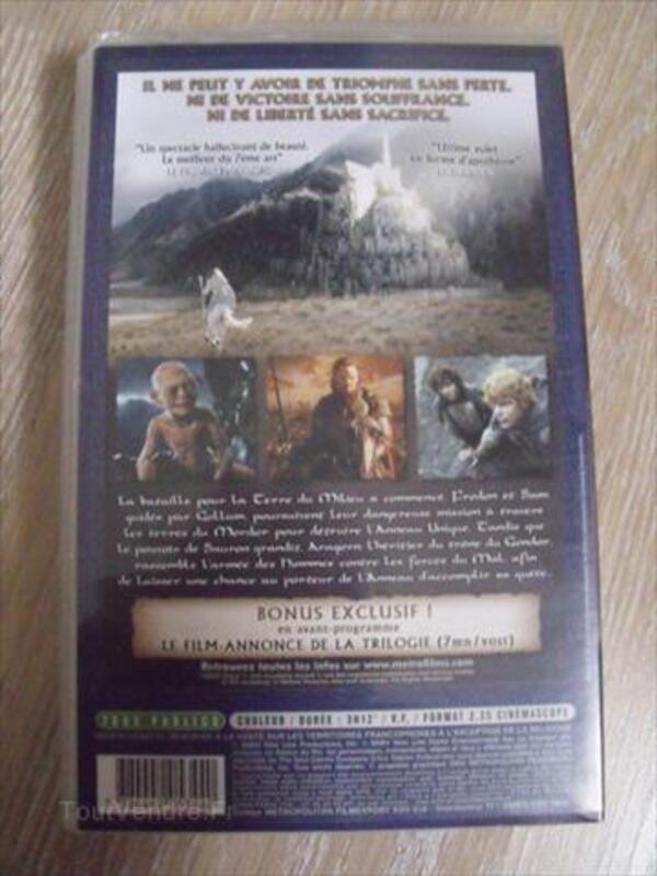 60% pas cher nouvelle collection grande remise Le Seigneur Des Anneaux Le Retour Du Roi (VHS) Preigney 70120