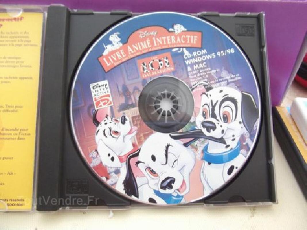 Les 101 Dalmatiens Livre Animee Sur Cd Rom 4 8ans