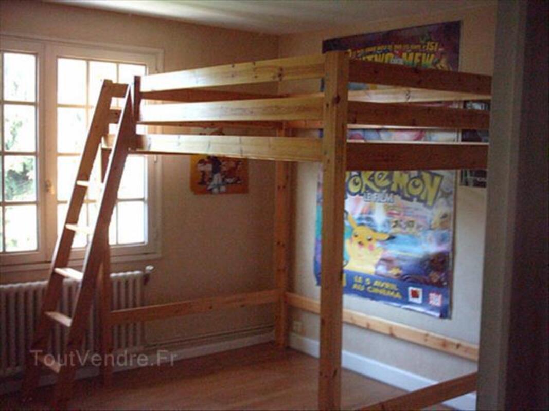 Lit Mezzanine 2 Places Ikea Quincampoix 76230 Ameublement
