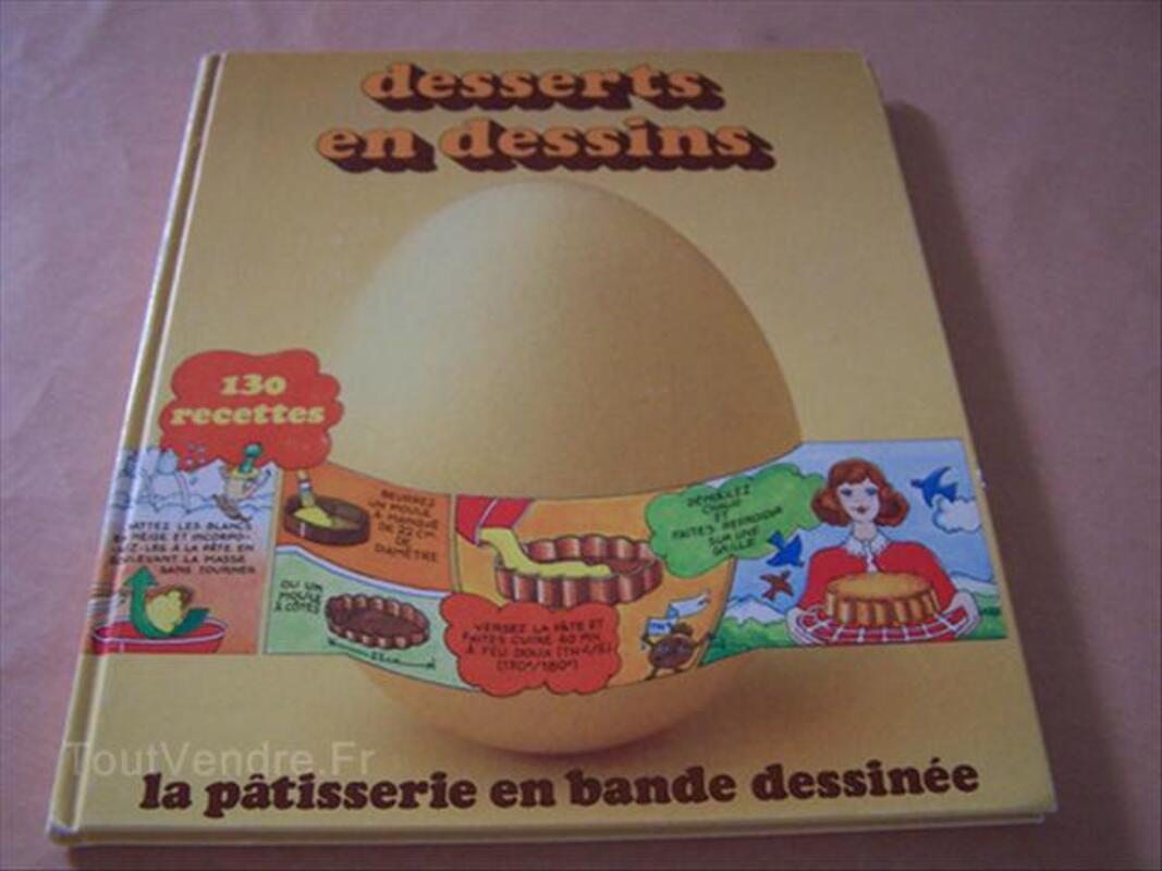 Livre De Desserts En Dessins Saint Aubin De Cretot 76190