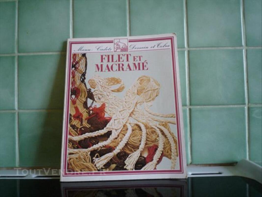 Livre Filet Et Macrame Manu Cadets Dessain Et Tobra Rouvrois Sur