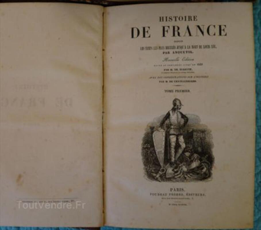 Livres Anciens L Histoire De France Lignieres La Carelle 72610