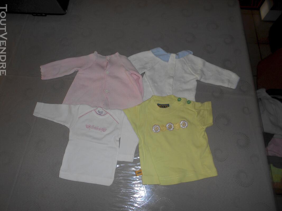 c6c0a2ecf45f1 Lot De Vêtements Bébé Fille