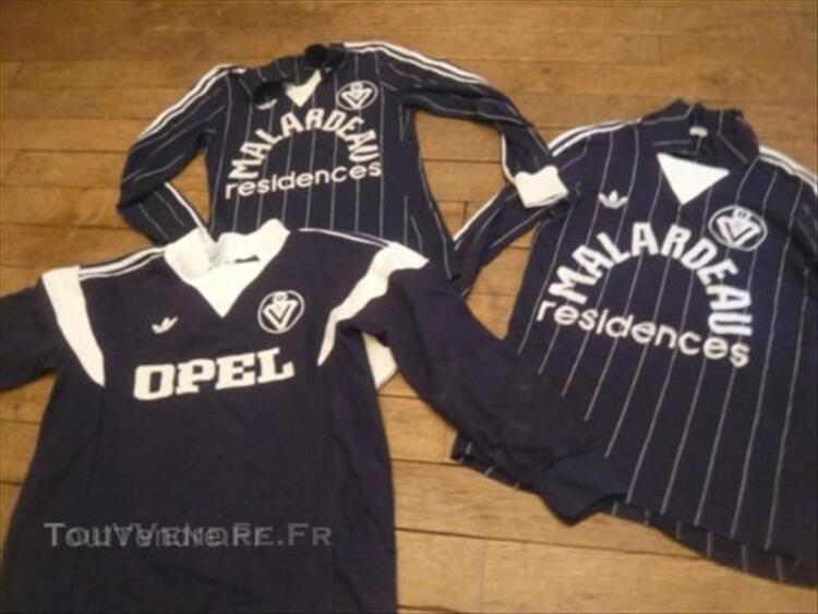detailed images classic fit first rate LOT MAILLOTS ADIDAS GIRONDINS BORDEAUX MALARDEAU/OPEL ...