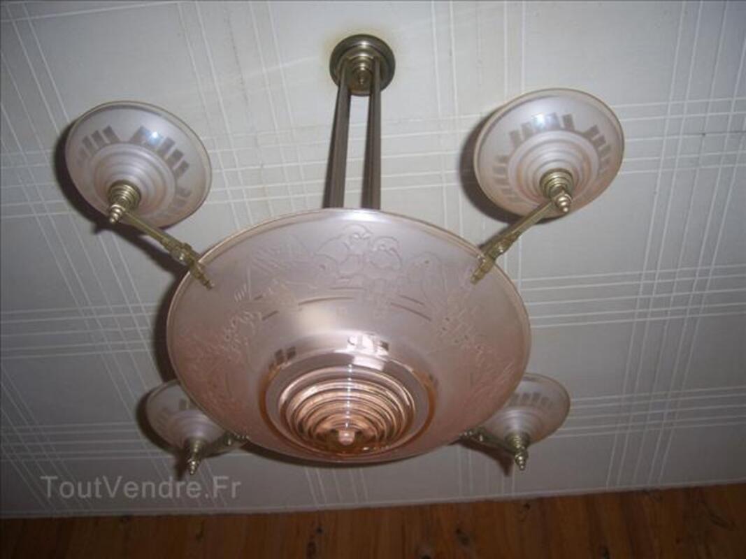 Lustre Muller Freres Luneville Trosly Loire 02300 Decoration