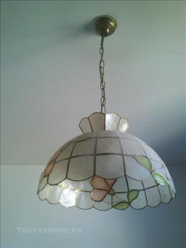 lustre nacre brignancourt 95640 décoration