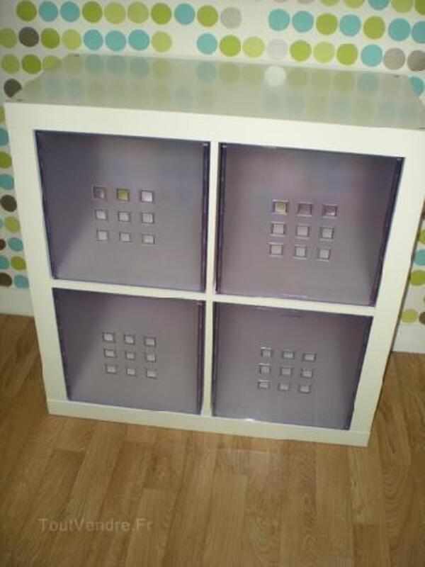 Meuble De Rangement Ikea Blanc Avec Casier Liniez 36150