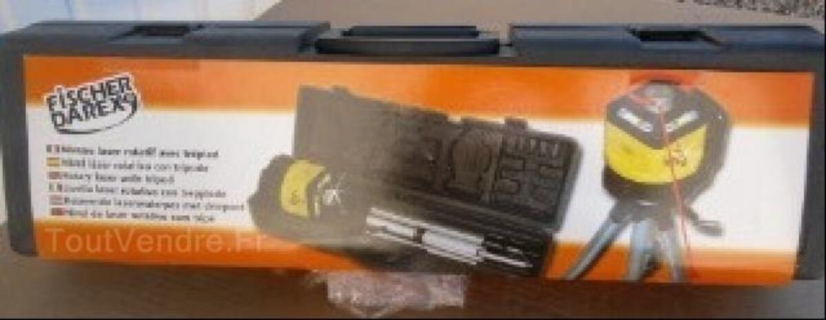Niveau Laser Rotatif Fischer Darex Guimps 16300 Bricolage