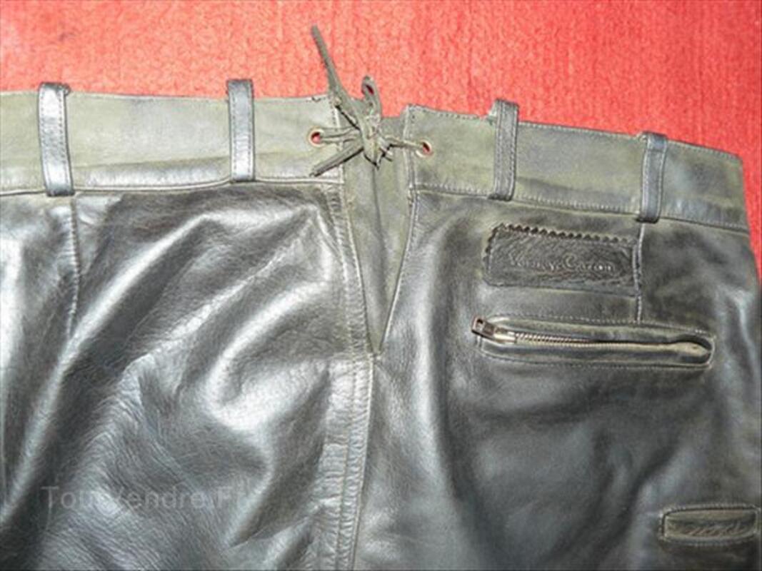 pantalon cuir verney carron chasse ribes 07260 autre loisir. Black Bedroom Furniture Sets. Home Design Ideas
