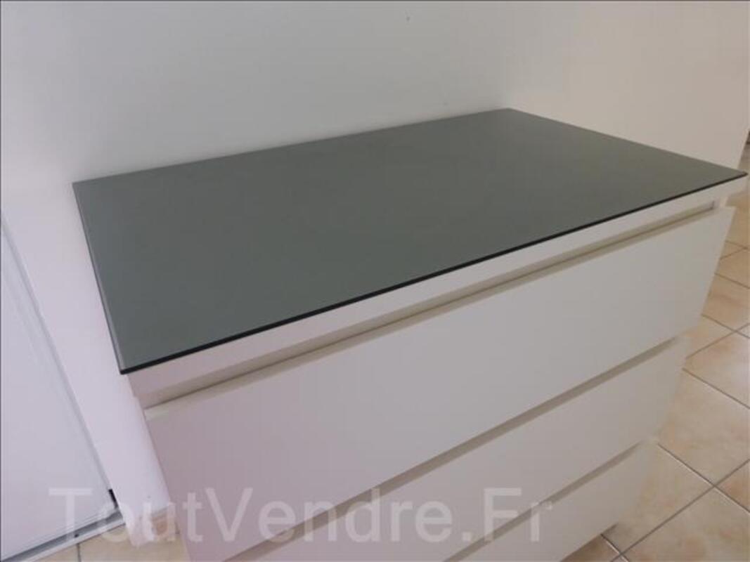 Plateau Verre Gris Transparent Pour Commode Malm 80x48 Angers 49100