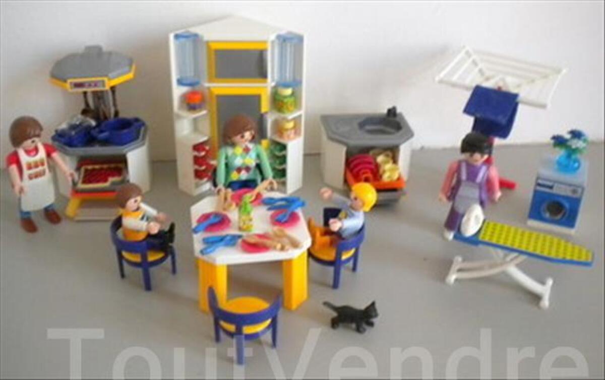 Playmobil maison contemporaine meubles lot n 1 saint symphorien d 39 ancelles 71570 - Maison contemporaine meuble ...