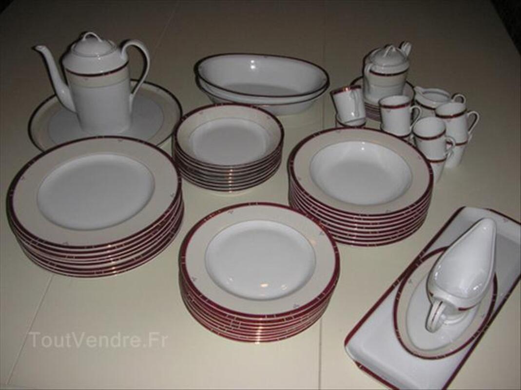 Porcelaine De Limoge Service Philippe Deshoulieres