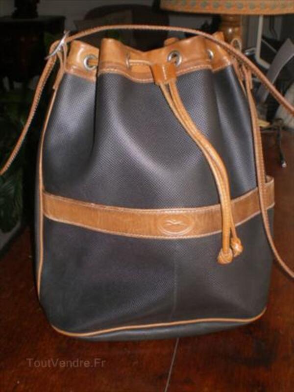 Sac Longchamp Besace Bandoulière Vintage Angerville-l'Orcher 76280