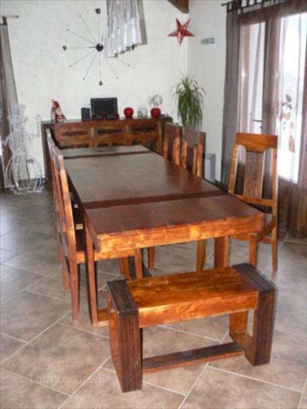 Salle A Manger Bois Et Chiffon -|- vinny.oleo-vegetal.info