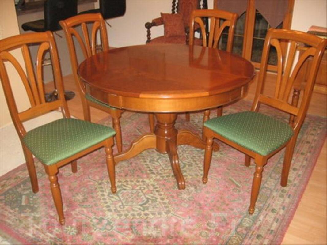 Salle A Manger Merisier Table Lot De 8 Chaises Blangerval