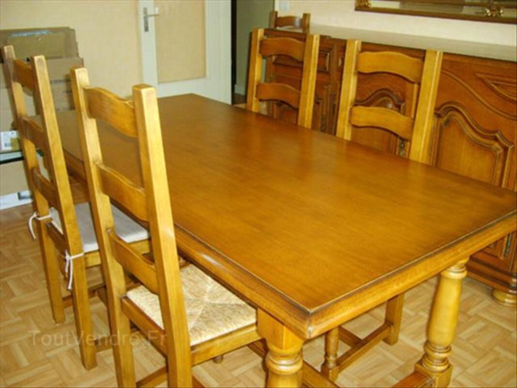 salle a manger style louis xiv en chene massif 56402011