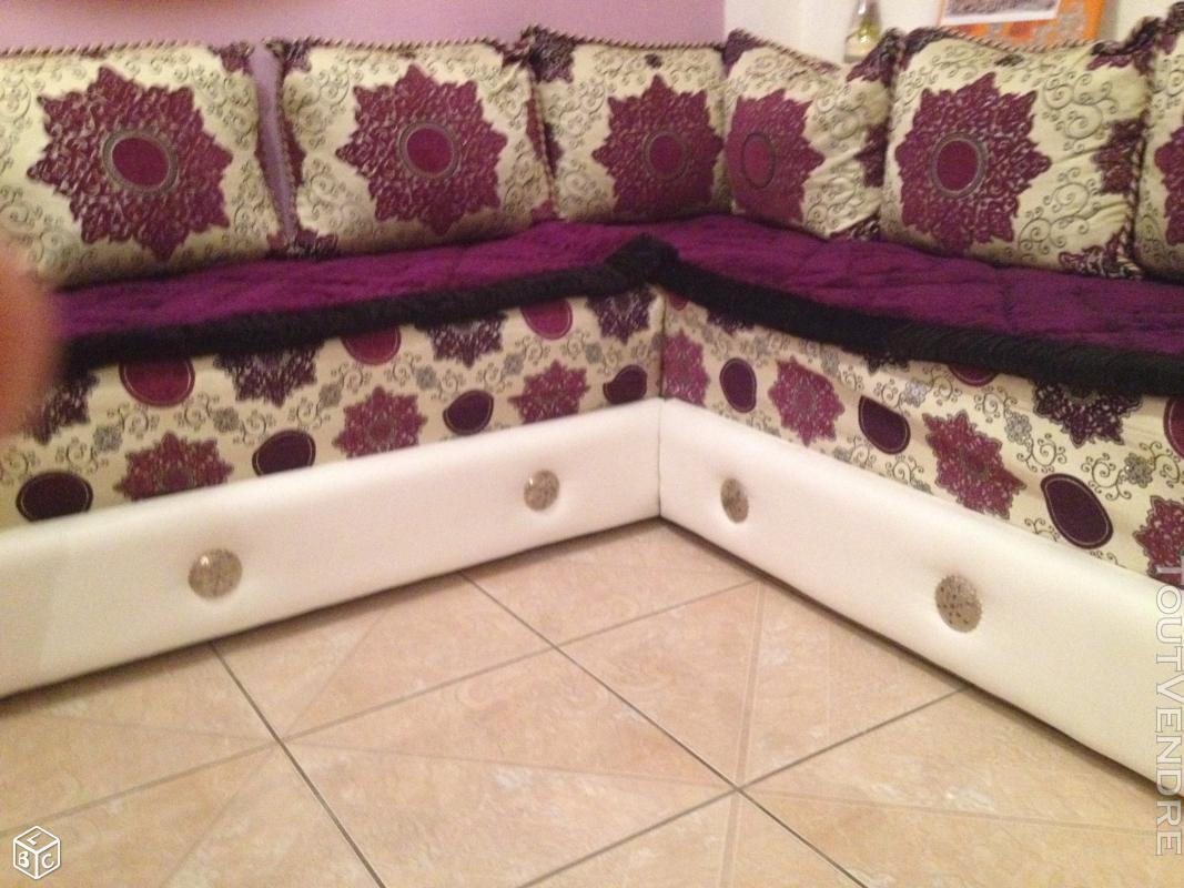 Salon Marocain Cuir Blanc 177050600