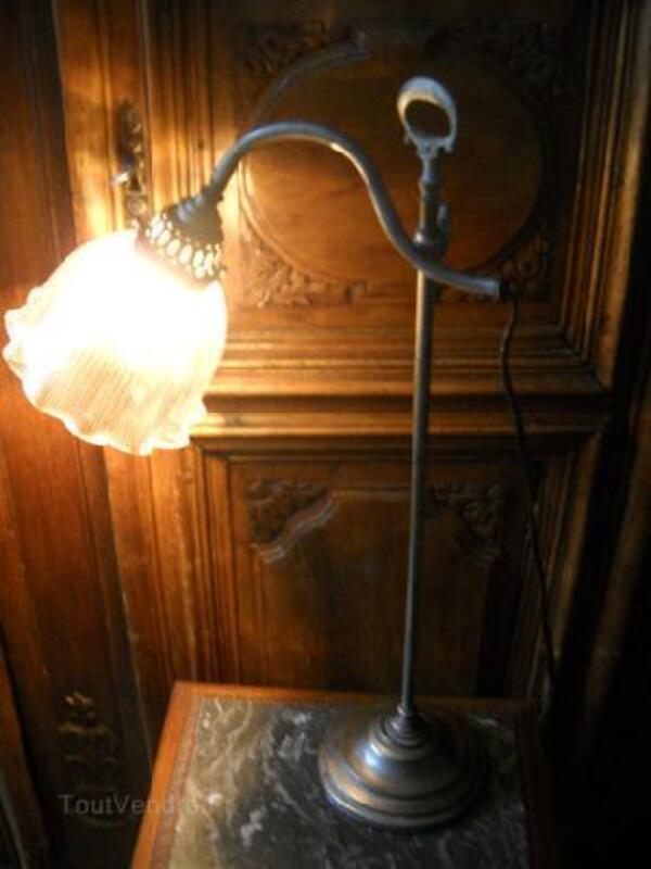 Superbe Lampe De Bureau Des Annees 30 Et Avant Vantoux 57070