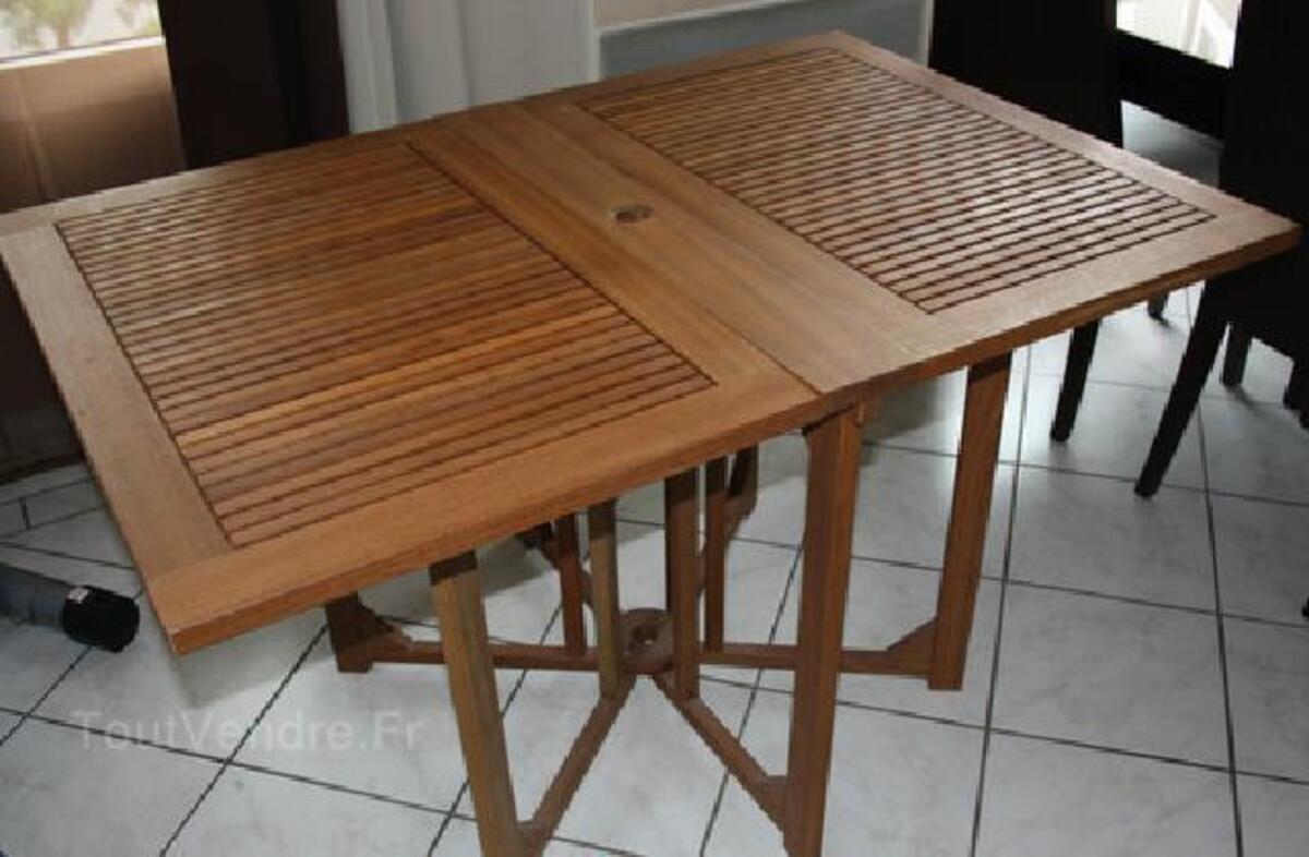Table De Jardin Pliable Alinea, Bois Massif Viens 84750 ...