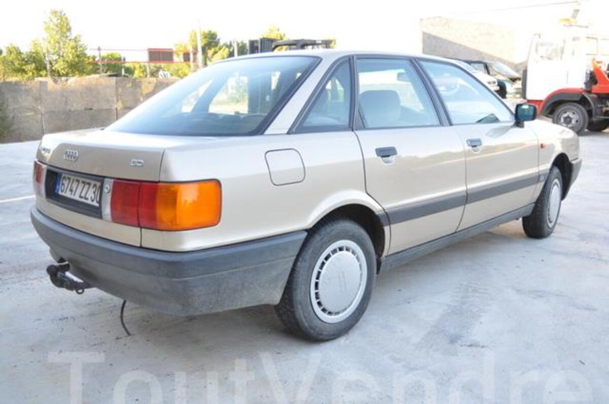 Audi 80 1978-1996 81 85 B2 89 89Q 8A B3 8C B4 échappement manche /& pinces 51//54mm