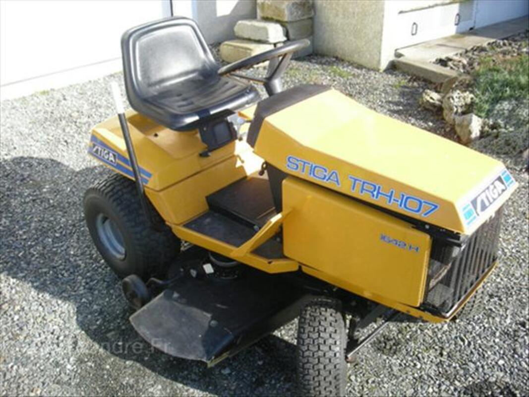 Tracteur tondeuse stiga trh 107 beauch ne 61800 bricolage - Plateau de coupe stiga park ...