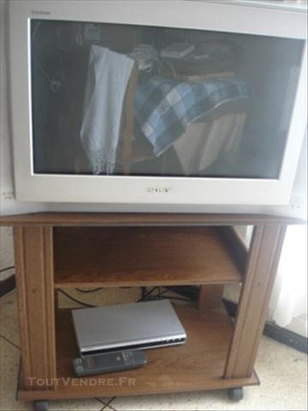 tv sony trinitron meuble tv lecteur