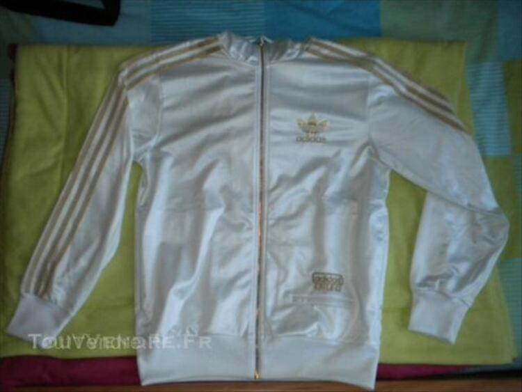 Veste Adidas Chile 62 Blanche Or Taille S Moulins Engilbert