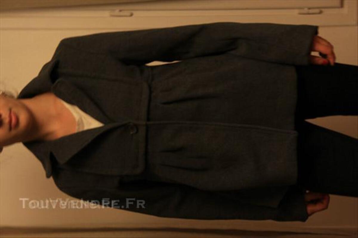 Femme Veste Vêtements Amisu 38 Ardon 39300 Grise Taille CFxwgF